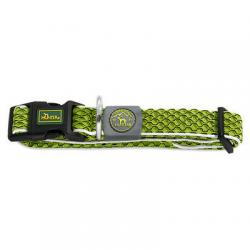 COLLIER FLUO VERT taille L