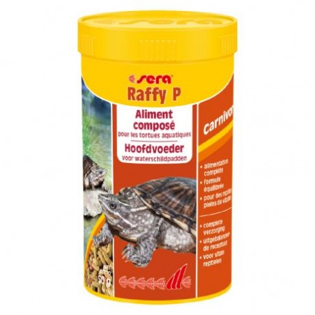 SERA Raffy P 250 ml - Aliment pour tortue