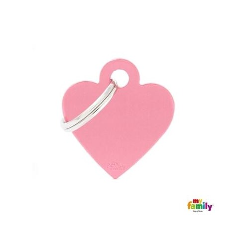 MEDAILLE PINK SMALL HEART