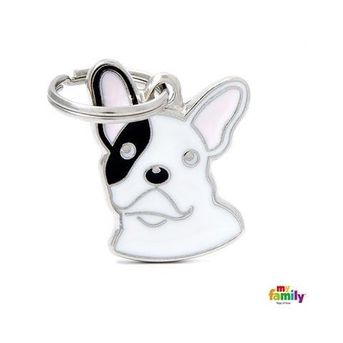 MEDAILLE BOULEDOGUE FRENCH