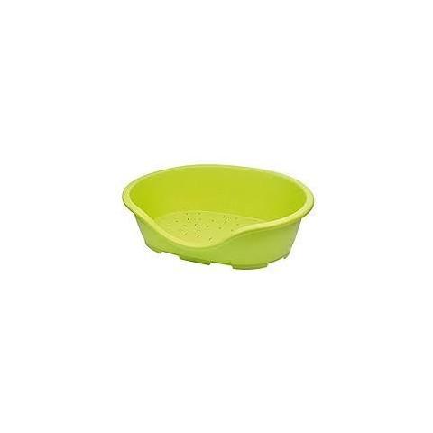 Panier pour chien ou chat colori vert anis ref MCO-PER3ANI